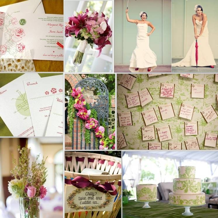 Green and Pink Inspiration