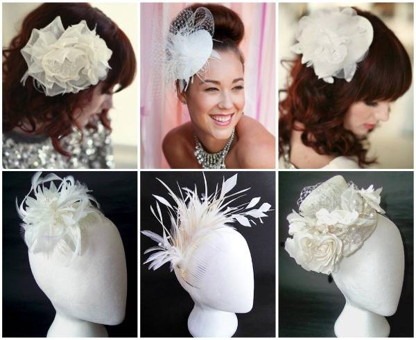 Fascinating Bridal Fascinators