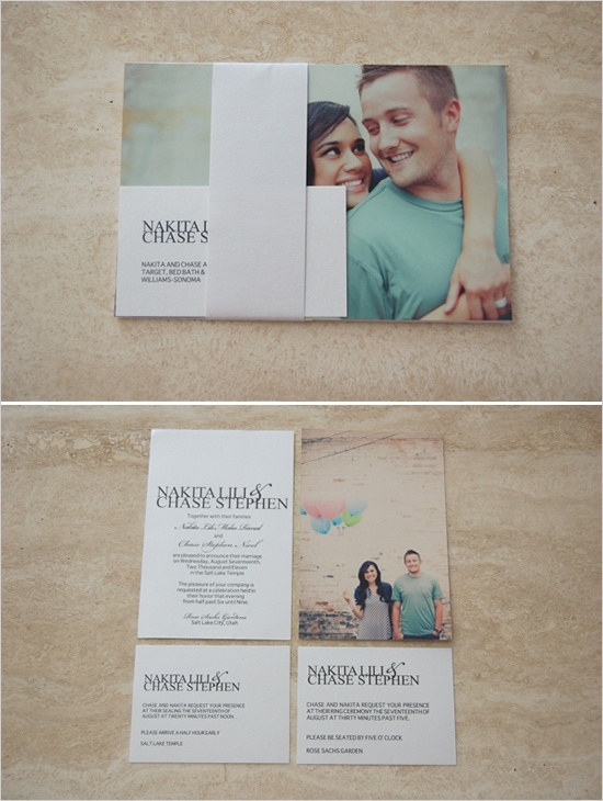 Themed Wedding Invitation Ideas