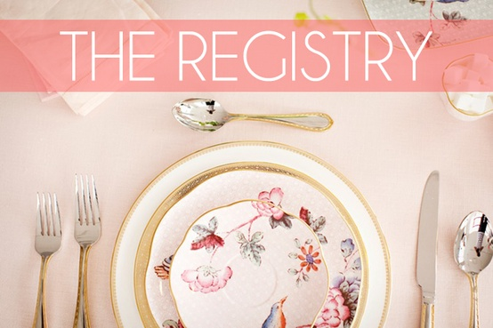Wedding Registry Etiquette for Soon to be Brides