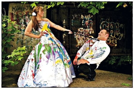 Trash Your Wedding Dress: Is This Real?