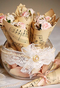 Rose Petal Holders