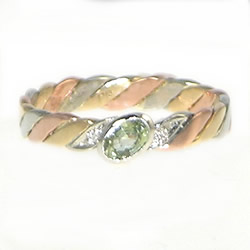 Celtic Twist Engagement Ring