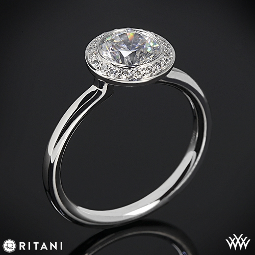 Ritani Endless Love Solitaire Engagement Ring
