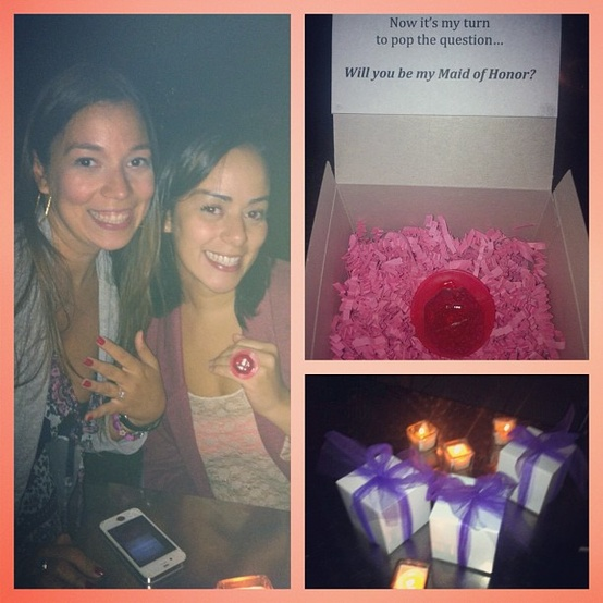 Maid of Honor Proposal
