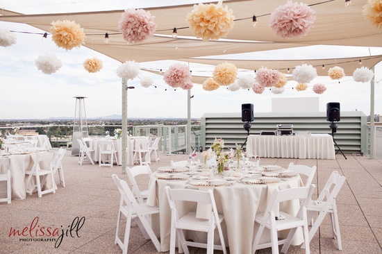 Roof Top Wedding Reception