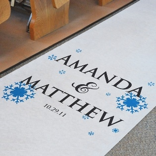 Printed Aisle Runner