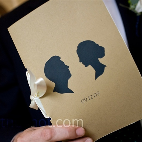 Artistic Wedding Invitation
