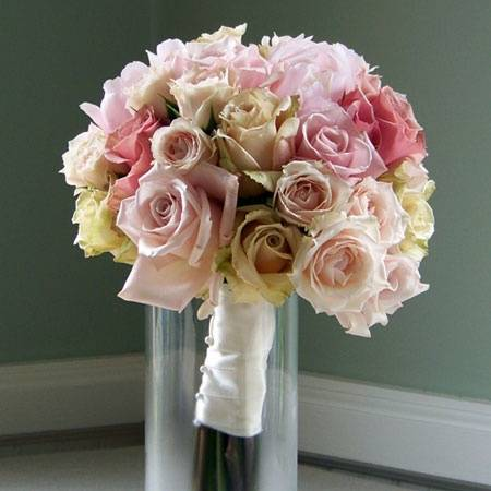 Peonies Wedding Bouquet