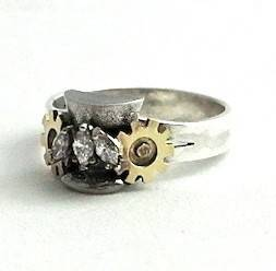 Steampunk Wedding Ring
