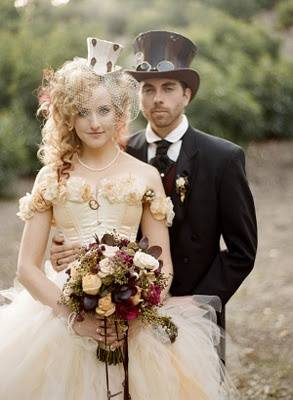 Steampunk Wedding Attire
