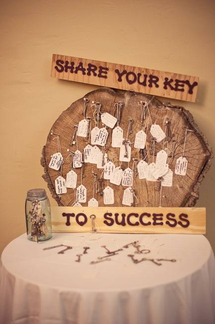Keys to Success Guestbook