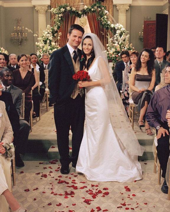Monica and Chandler's Wedding - Friends