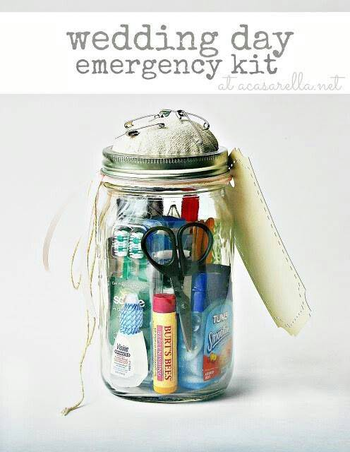 Wedding Emergency Kit