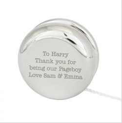Personalised Silver YOYO