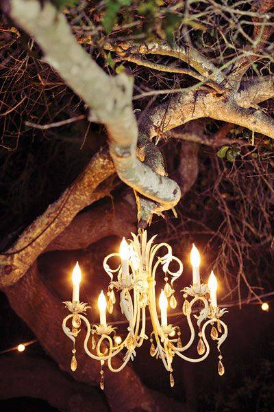 Outdoor Wedding Chandelier