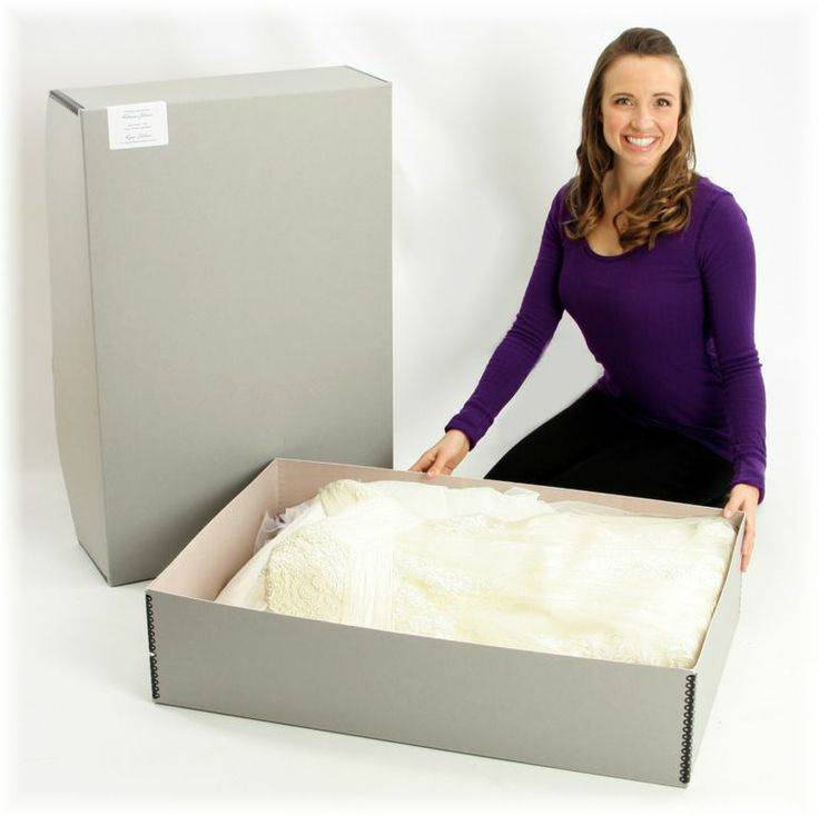 Preserving Wedding Dress in Box