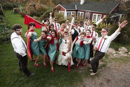 5 Hilarious Wedding Themes