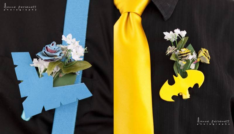 When Batgirl & Nightwing decided to get married