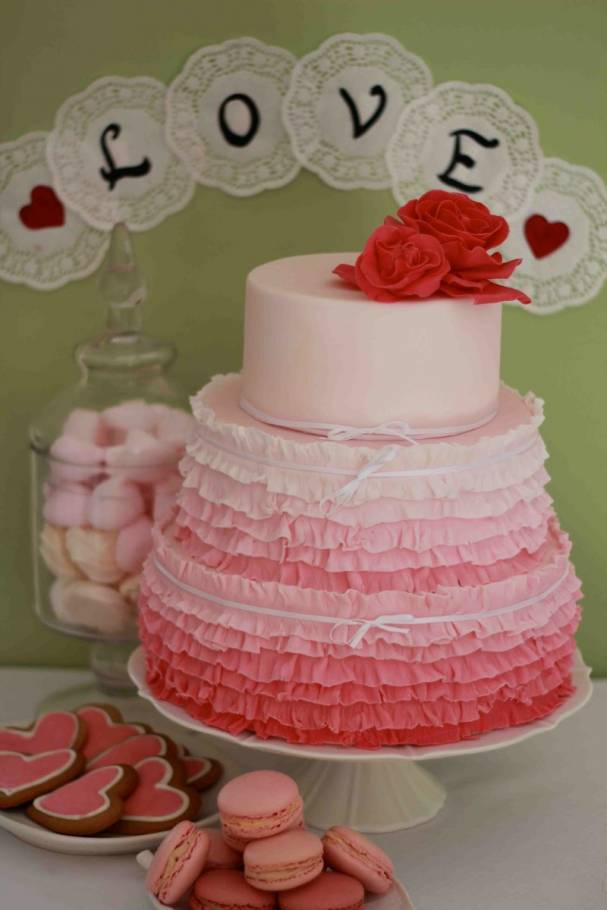 Gorgeous Pink Wedding Cakes