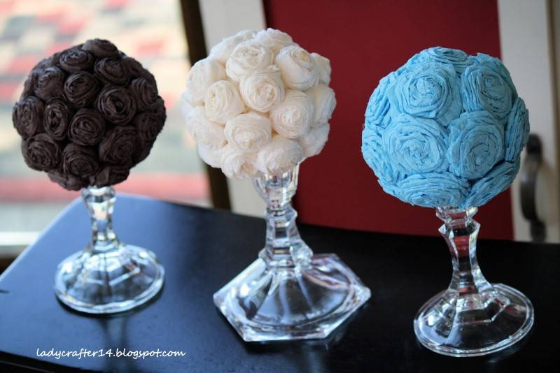 Wedding Diy Crepe Paper Flower Balls Wedding Fanatic