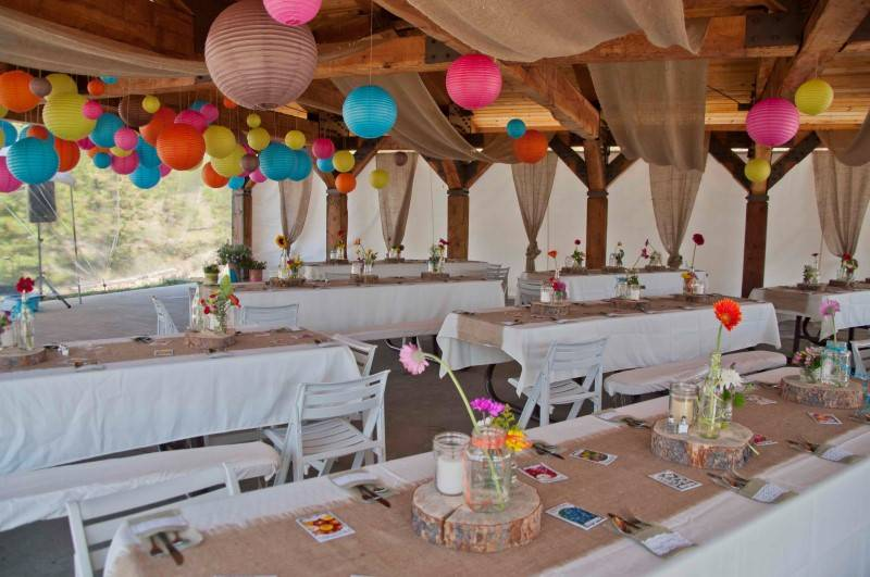 Fun Wedding Theme for Fall: Camping - Wedding Fanatic
