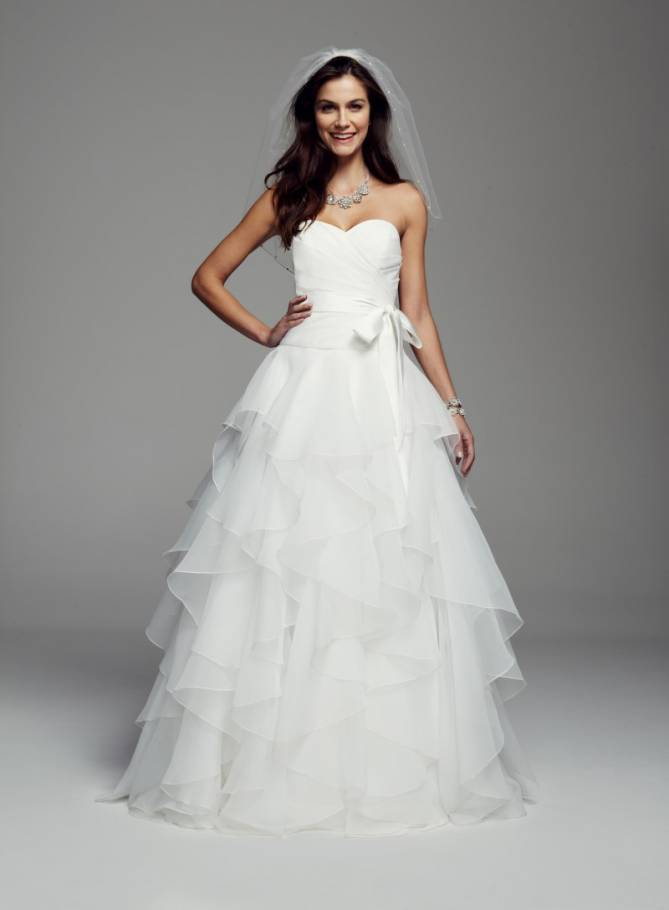 www.davidsbridal.com/Product_Strapless-Organza-Ball-Gown-with-Rufled-Skirt-MK3667%E2%80%8B