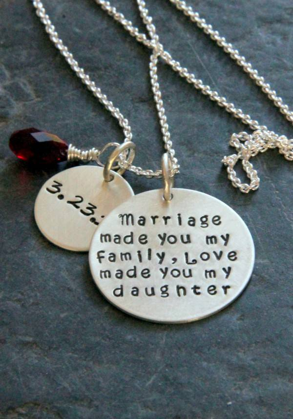 Wedding Gifts For Your Daughter : ... piece of jewelry for your child as a sign of commitment and love