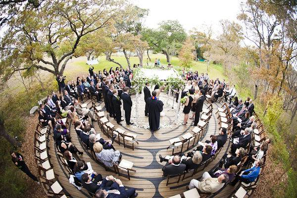 Unique Ceremony Seating Ideas
