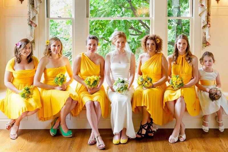 Wedding Ideas for Those Who Love the Color Yellow