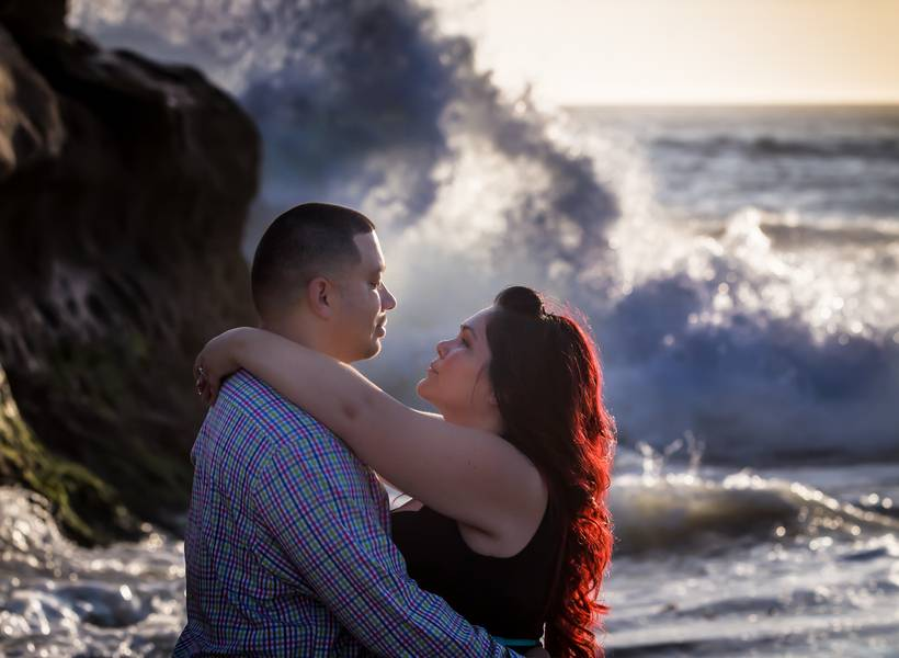 Sunset by the Beach – An Engagement Shoot