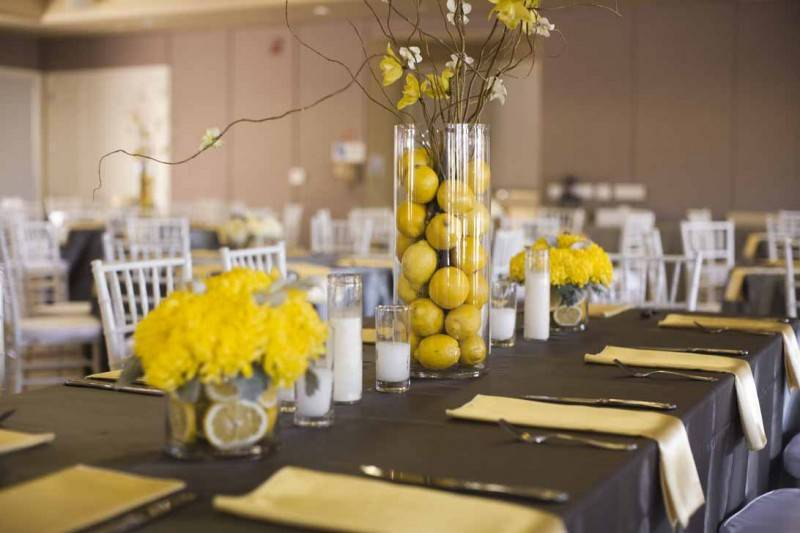 Wedding Ideas for Those Who Love the Color Yellow - Wedding Fanatic