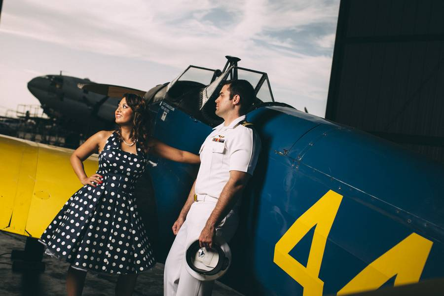 The Navy Blues – An Engagement Shoot