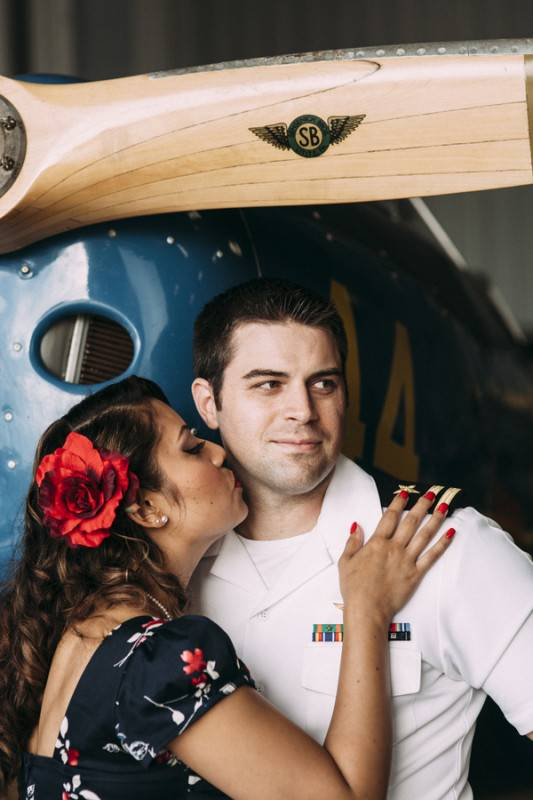 The Navy Blues   An Engagement Shoot