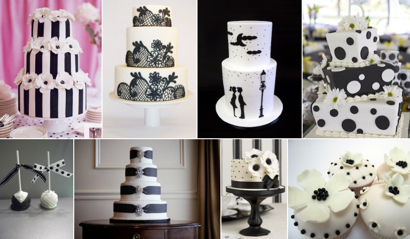 Inspiration: A Magical Black and White Wedding