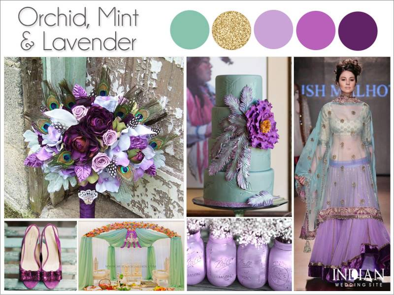 Mint And Gold Wedding Color Palette - Wedding Fanatic
