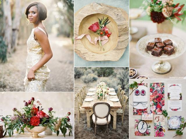 Valentine's Day Wedding Color Palette Ideas