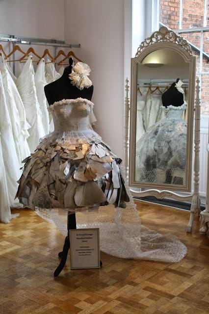Amazing Recycled Wedding Dresses