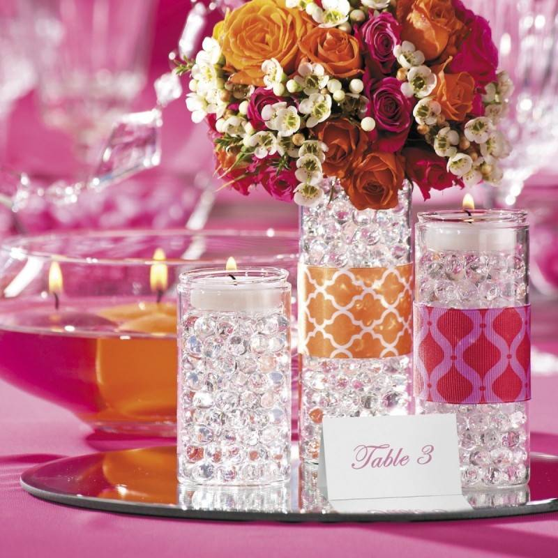 Beautiful Lighted Centerpieces for Your Wedding