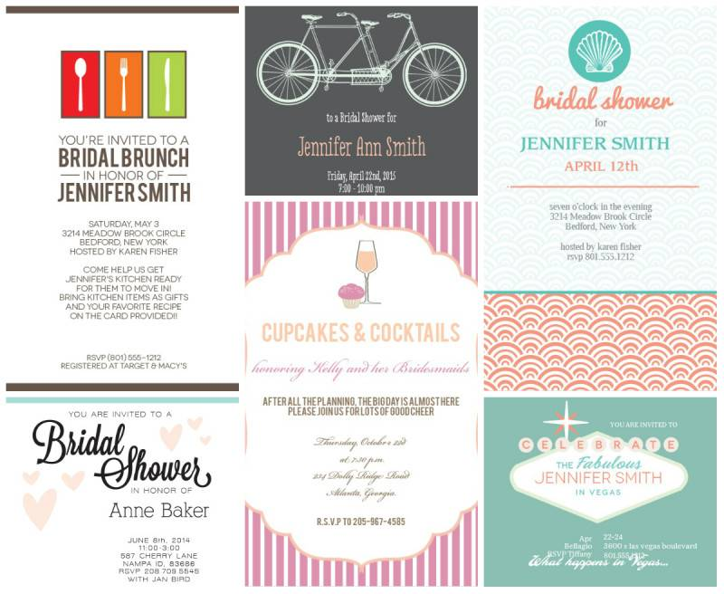 6 of the Cutest Bridal Shower Invitations You Havent Seen