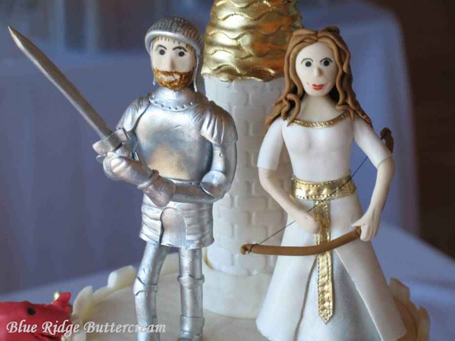 Whimsical Wedding Cake Toppers for the Fantasy-Themed Wedding