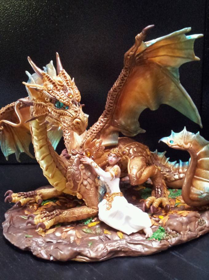 dragon wedding cake topper whimsical wedding cake toppers for the themed 13718