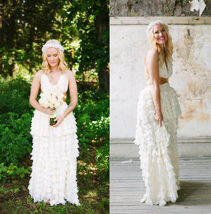 Gorgeous Wedding Dresses You Wont Believe are Handmade