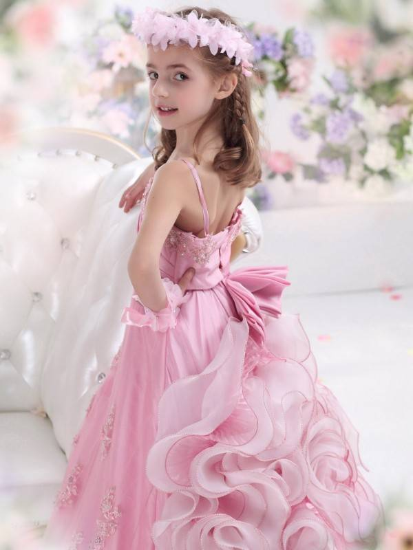 a-line-spaghetti-strap-floor-length-taffeta-pink-girls-pageant-dress-fl0600039-d