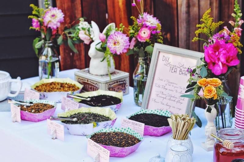 Healthy Wedding Food Bars: Its a Thing!