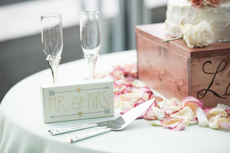 Lovely DIY's Made for a Beautiful Wedding