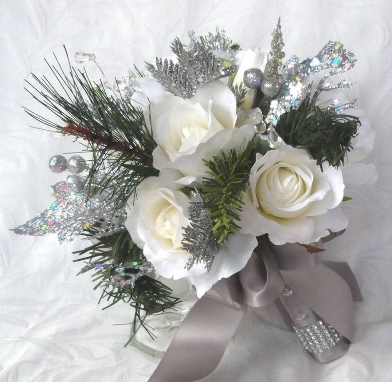Gorgeous Winter Wedding Bouquet Ideas