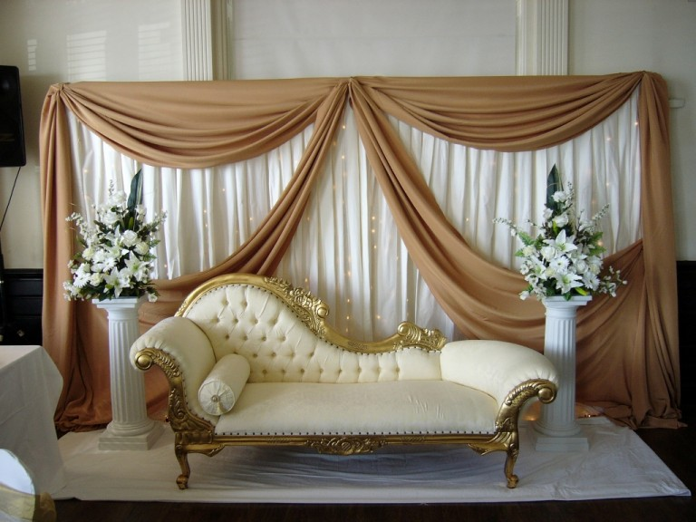 Transform an Ugly Reception Venue with These DIY Tricks