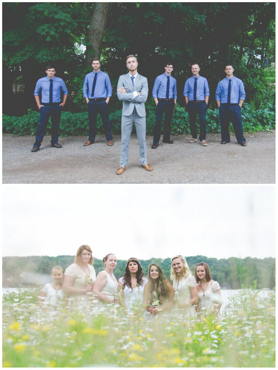 Campground Wedding in Northern Wisconsin - Wedding Fanatic