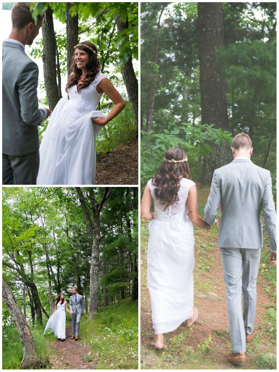 Campground Wedding in Northern Wisconsin